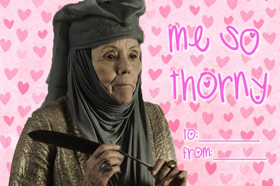 Valentine S Day Game Of Thrones Style Winter Is Coming