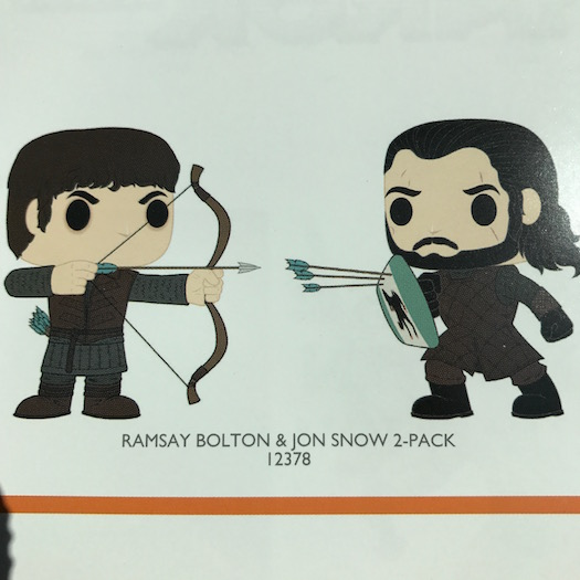 game of thrones merch new pop vinyl figures are coming. Black Bedroom Furniture Sets. Home Design Ideas