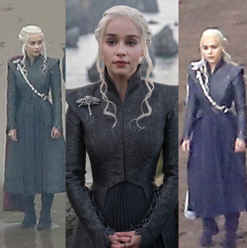 What do daenerys 39 new outfits tell us about her state of for Daenerys jewelry season 7