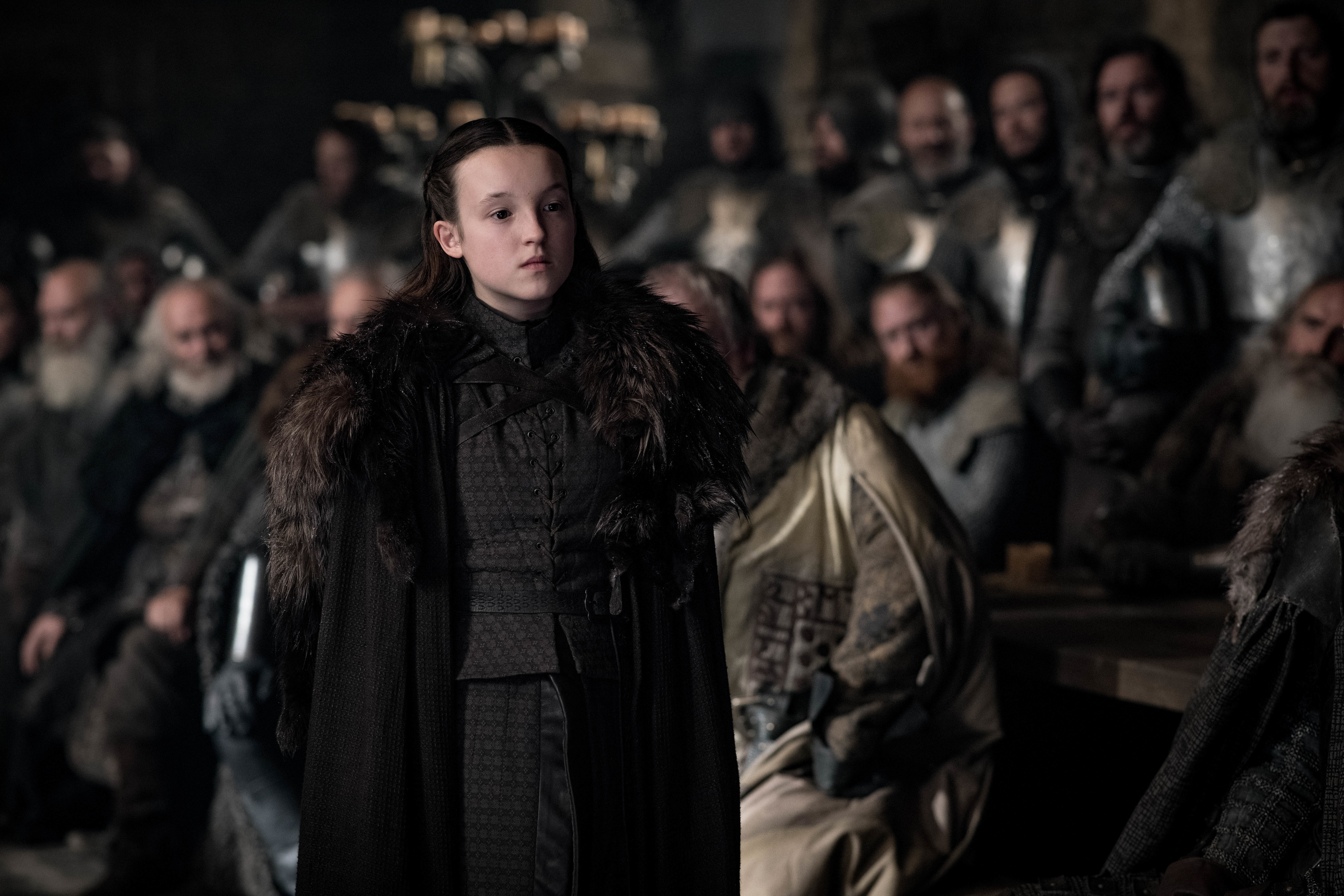 """Bella Ramsey (Lyanna Mormont) """"highly doubted"""" she'd ... Helen Ramsey Council"""