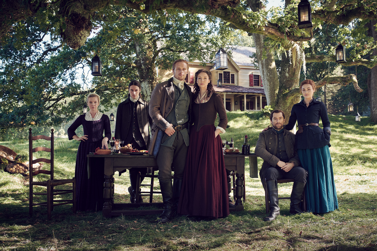 Outlander producer on why the Fraser house is different from the books
