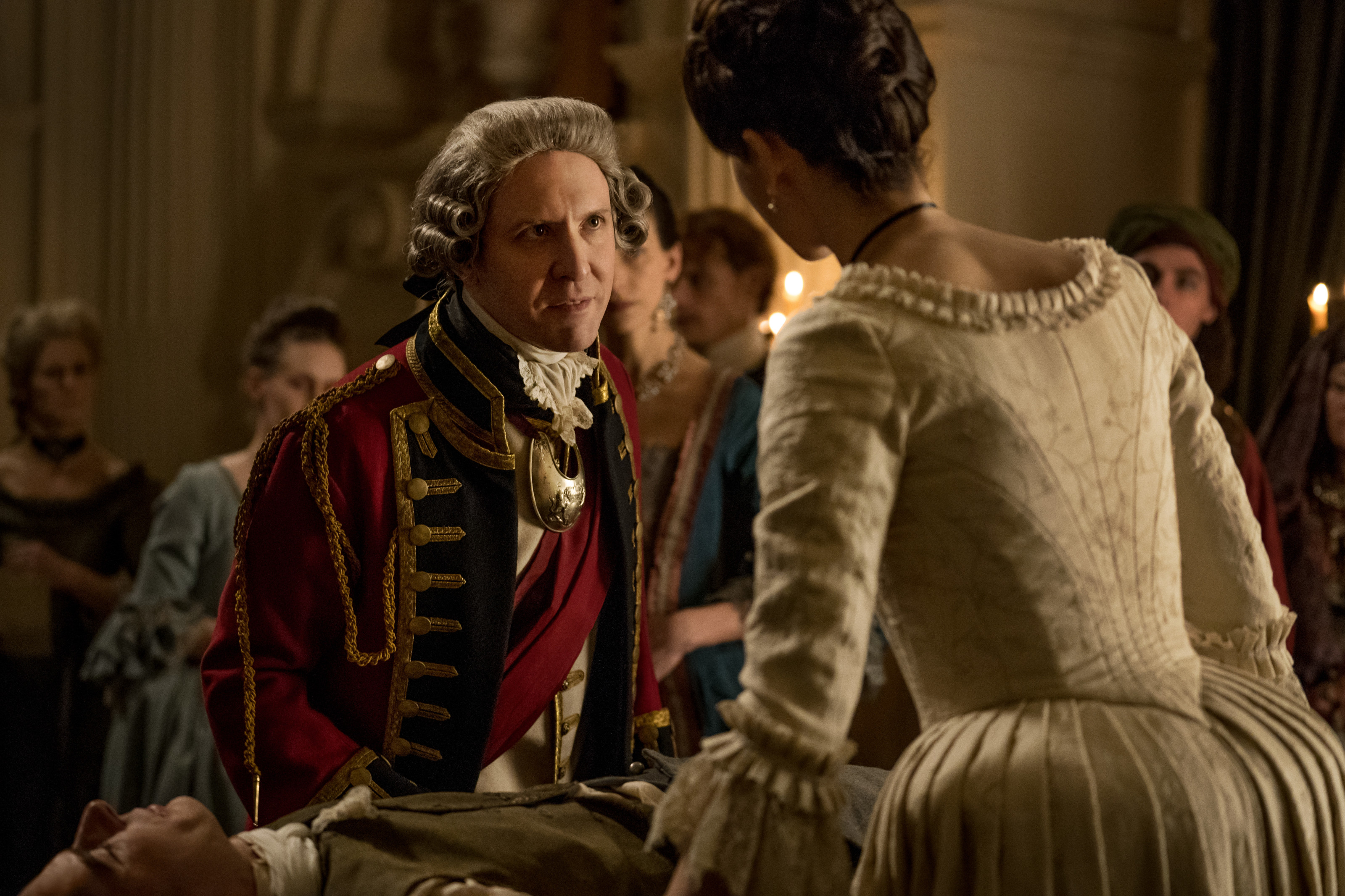 """Outlander's Tim Downie says Governor Tryon is """"the devil incarnate"""""""