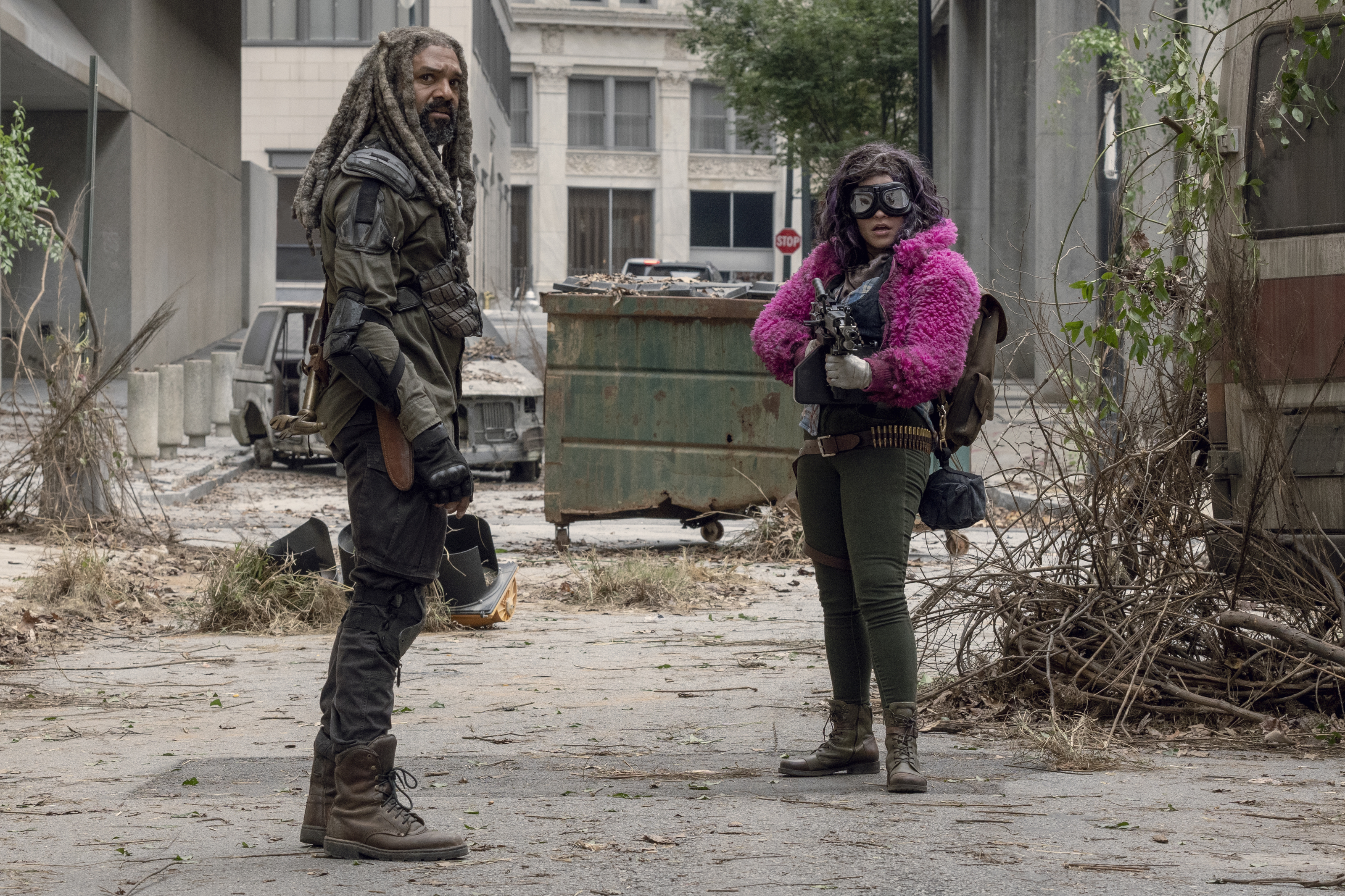 Learn all about Princess, the quirky new character on The Walking Dead