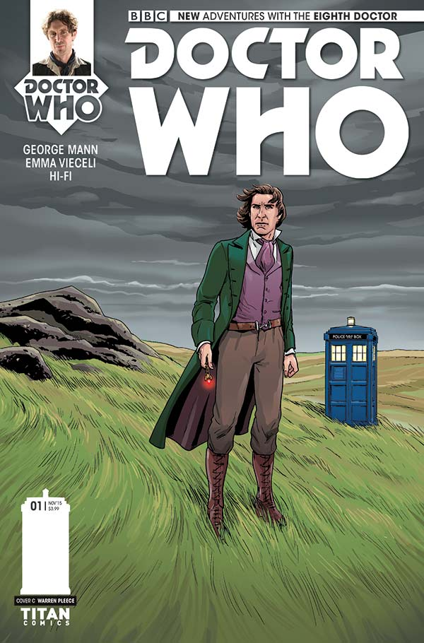 Alternate Cover For Doctor Who The Eighth 1 By Warren Pleece