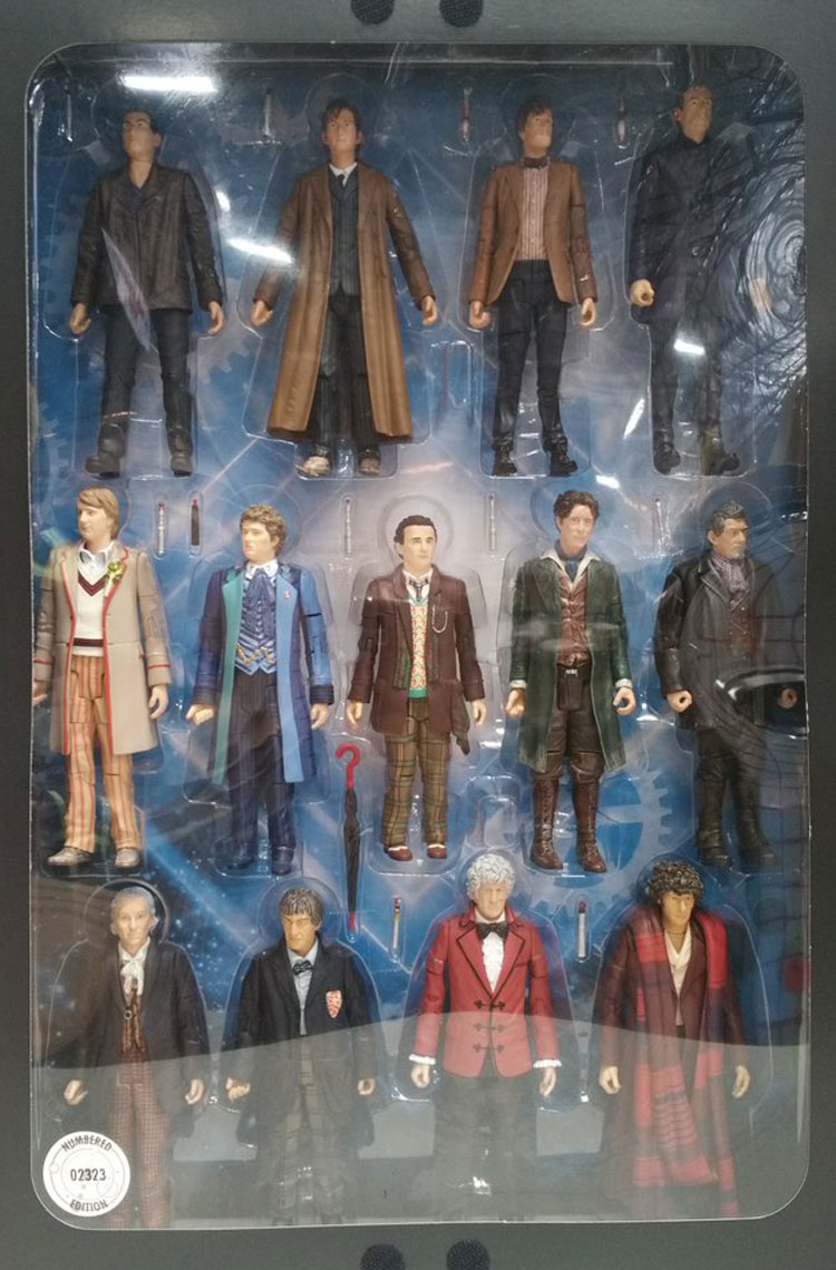 Toys For 13 : Some cool new doctor who merchandise coming soon