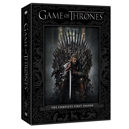 game of thrones season one box set is out winter is coming. Black Bedroom Furniture Sets. Home Design Ideas