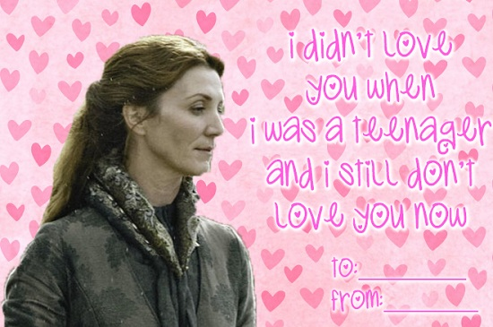 These Gems Were Shared By Contrarianne. (Click The Link For More MAJOR  SPOILER Containing Valentines.)