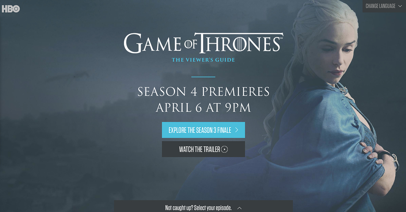 Hbo relaunches the game of thrones viewers guide winter is coming the new site features interactive maps complete character bios in case youve forgotten anyones name a guide to the houses and more gumiabroncs Images