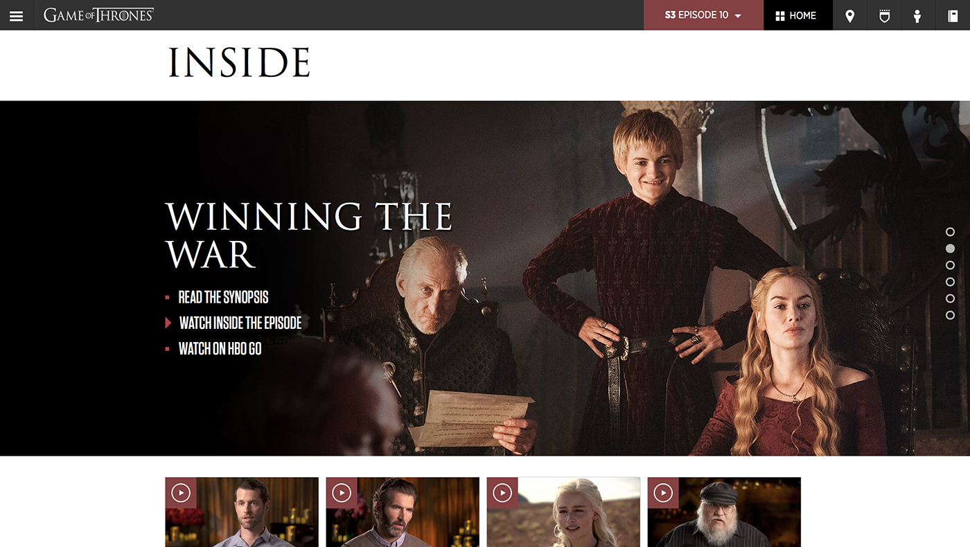 Game of thrones viewer's guide | the webby awards.