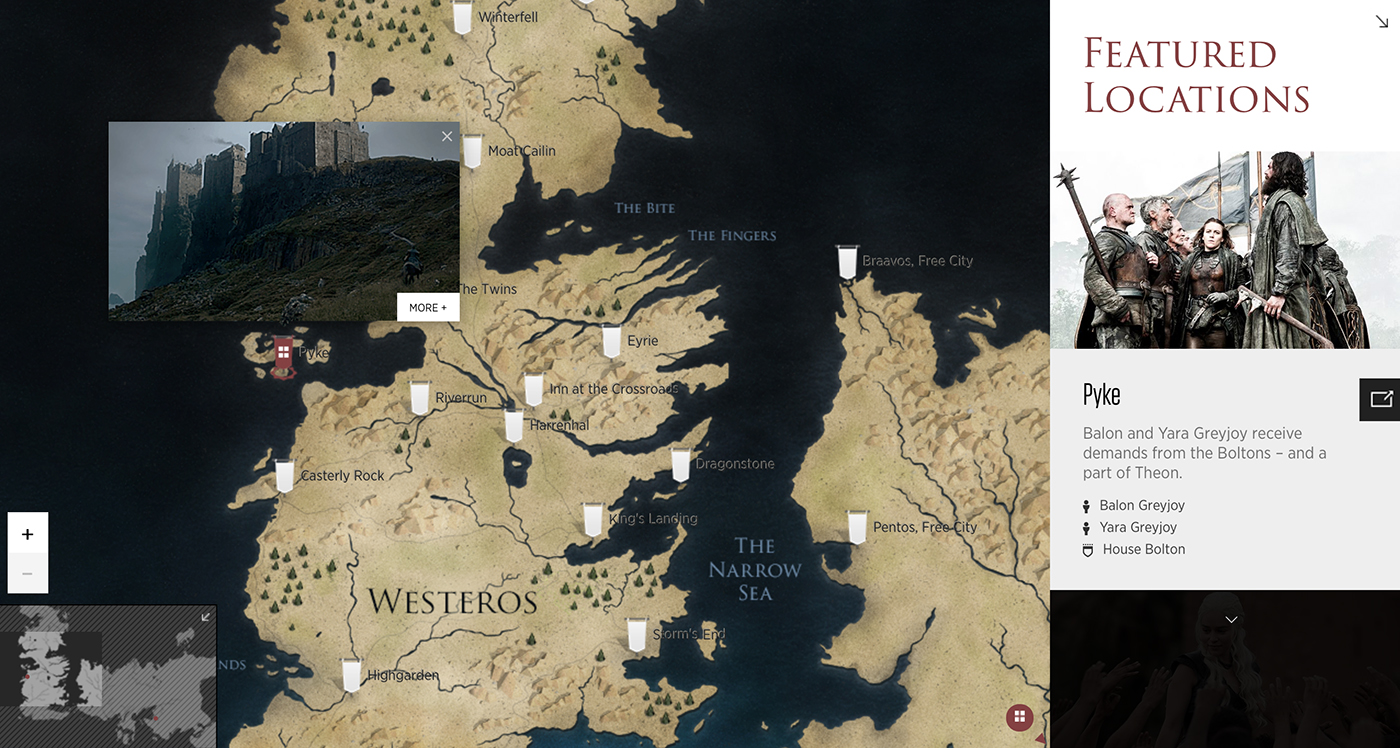 Hbo relaunches the game of thrones viewers guide winter is coming hbo relaunches the game of thrones viewers guide gumiabroncs Images