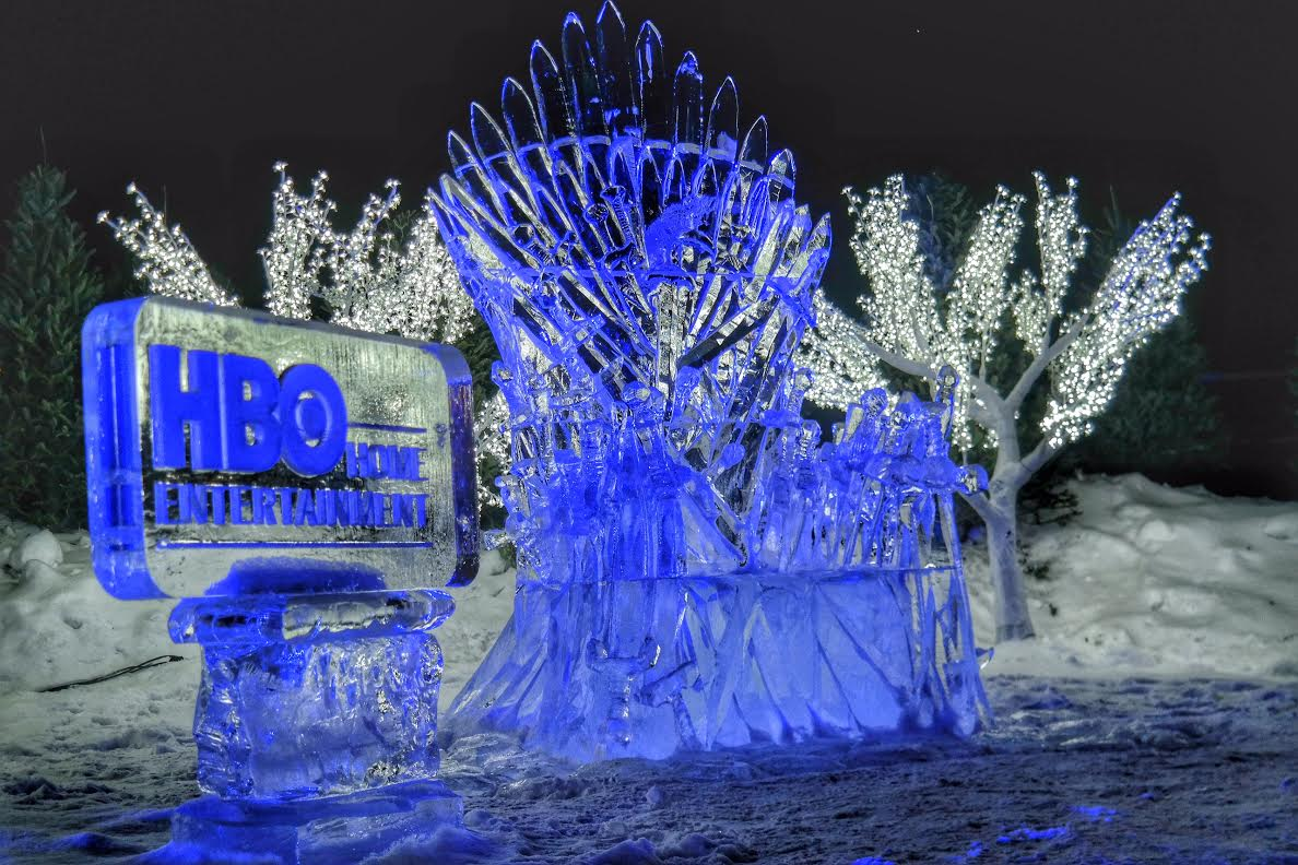 Hbo Canada Takes Over Ice Hotel For Season 4 Dvd Launch