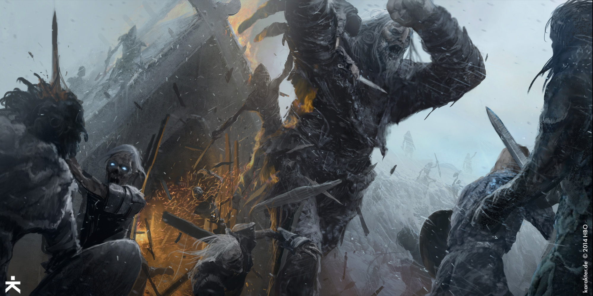 Check Out Some Of The Concept Art Behind Game Thrones Season 5